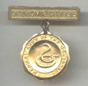 Service Pin(s)/Oklahoma City 1915 Medical Assn. of The S.W.
