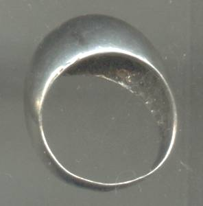 Ring/Silvertone/Dome Style/Unmarked