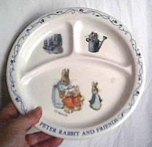 Peter Rabbit Childs Plate