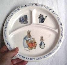 Peter Rabbit Childs Plate