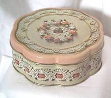AVON/Valentine Litho Tin Box