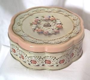 AVON/Valentine Litho Tin Box