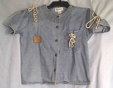 Clothing/Oleg Cassini Denim Blouse