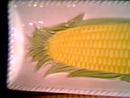 Ceramic/Pottery/Corn On The Cob Trays/Japan