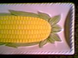 Ceramic/Pottery/Corn On The Cob Trays/Japan