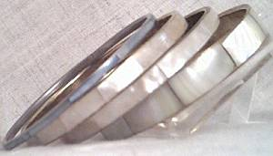 Bracelet/Bangles/4-Mother of Pearl Inlaid/Made in India