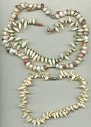 Necklace/Lot-3-Tourist Type Shell Chokers