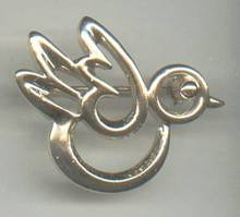 Brooch/Designer/Sarah Coventry GT Bird