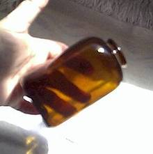 Bottle(s)/Amber Colored Medicine Bottles