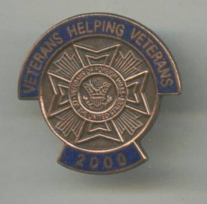 Service Pin(s)/Veterans Helping Veterans 2000