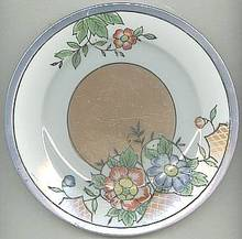 Porcelain/China/4-Hand Painted Desert Plates