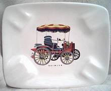 Smoking Item/Decorative Ashtray/Daimler Automobile Transfer Deco/WB Regina-Holland