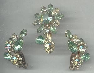 Set(s)/Designer Beau Jewels/Floral Motif