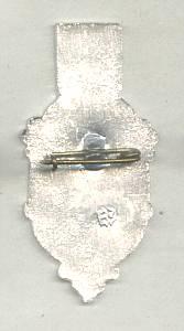 Religious/Russian Tourist Souvenir Pin