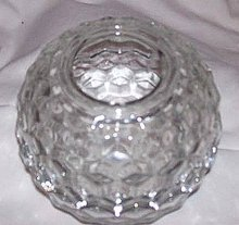 Glass/Homeco Fairy Lite/Lamp/American Whitehall by Indiana Glass Co.