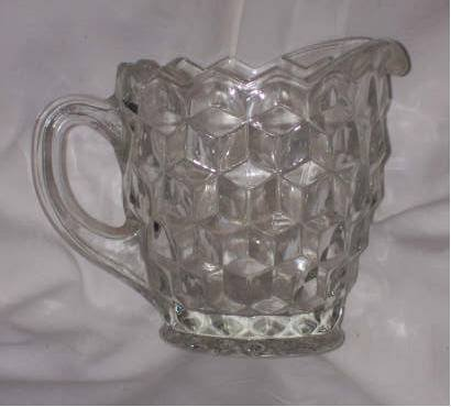 Glass/Creamer/American Whitehall by Indiana Glass Co.