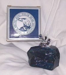 Avon/MIB Artic King Polar Bear Decanter//Everest After Shave