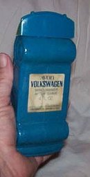 Avon/Blue/Volkswagan/Windjammer After Shave Decanter/Empty/No Box