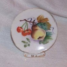 Porcelain/Miniature Hand Painted Decorative Plate/Japan
