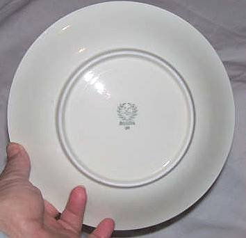 Porcelain/Small Bavarian Winterling Salad Plate