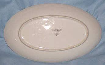 Porcelain/Small Oval Plate/Japan