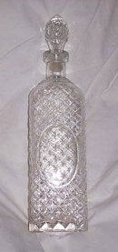 Glass/Clear Decanter With Stopper