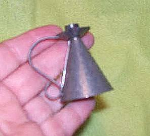 Household Items/Handmade Small Tin Candle Snuffer