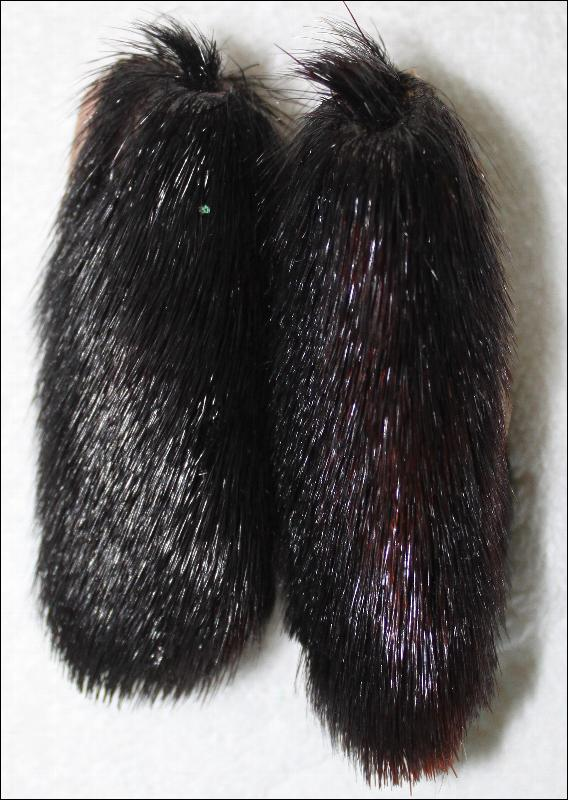 Native American /Alaskan fur doll moccasins