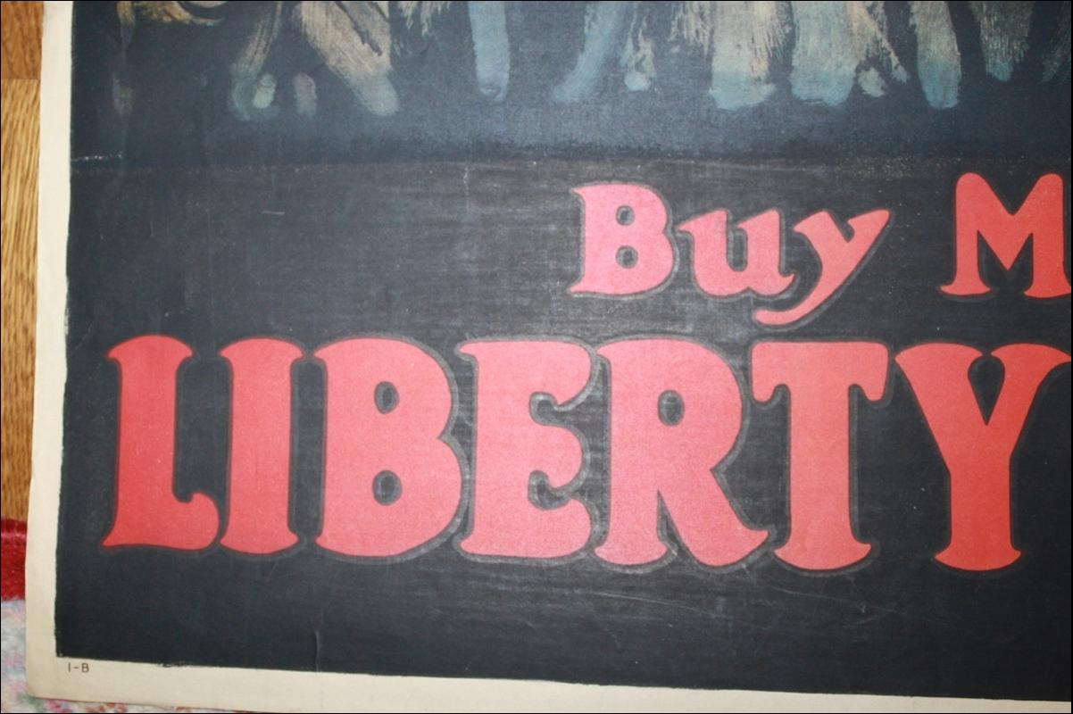 Paus WWI Liberty Loan Poster USA