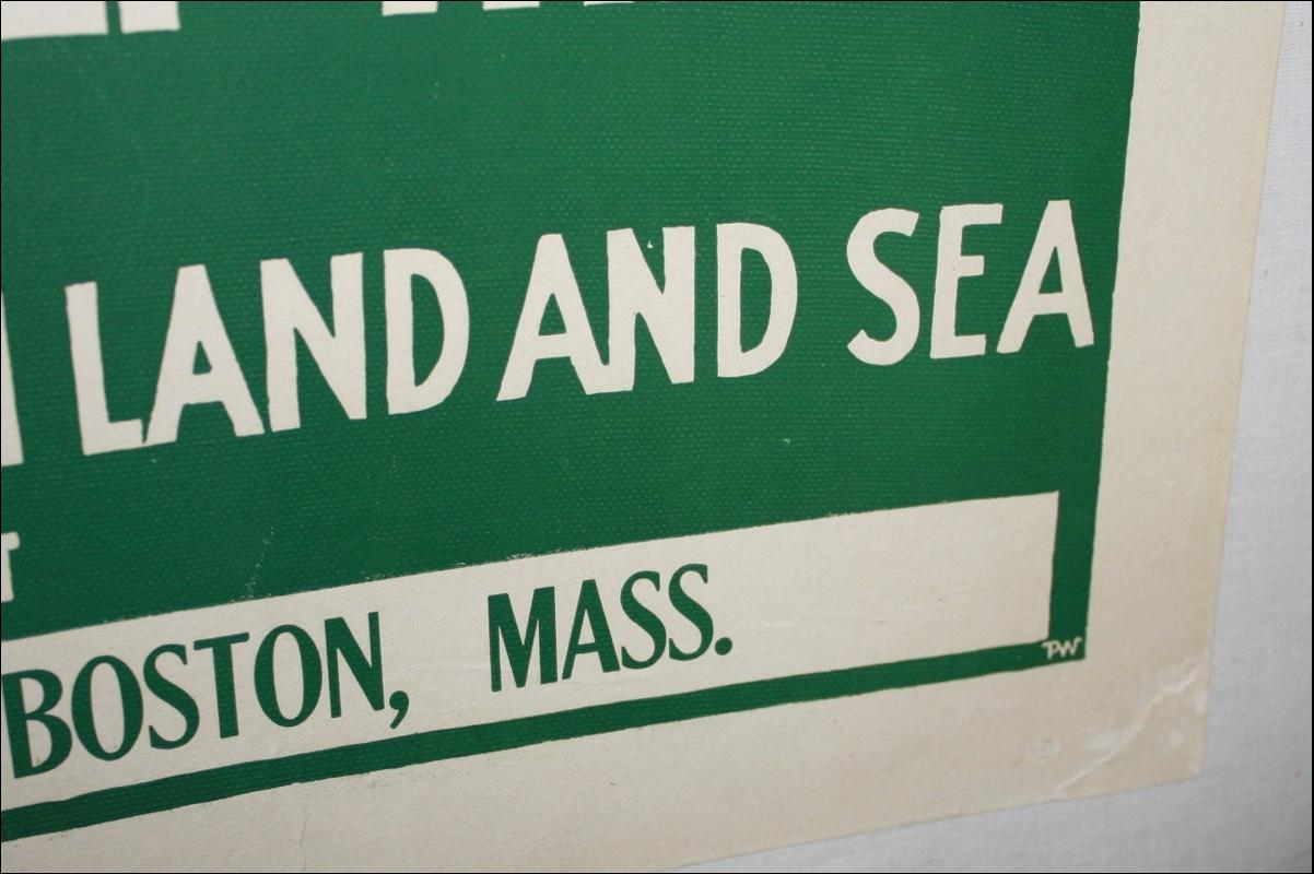 WWI Marines Recruit Poster Boston
