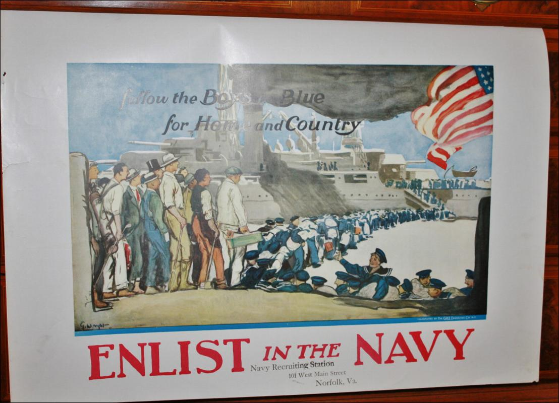 WWI Navy Recruitment Poster