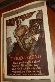 WWI US Food Administration Waste Not Poster
