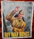 WWII Buy War Bonds Solider Poster