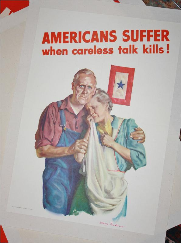Harry Anderson WW2 Poster