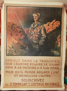 WW1 French War Poster