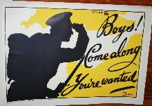 WWI British Recruitment Poster Paris