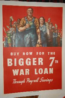 WWII 7th War Loan Poster