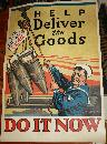 WWI USA Navy Bomb Poster