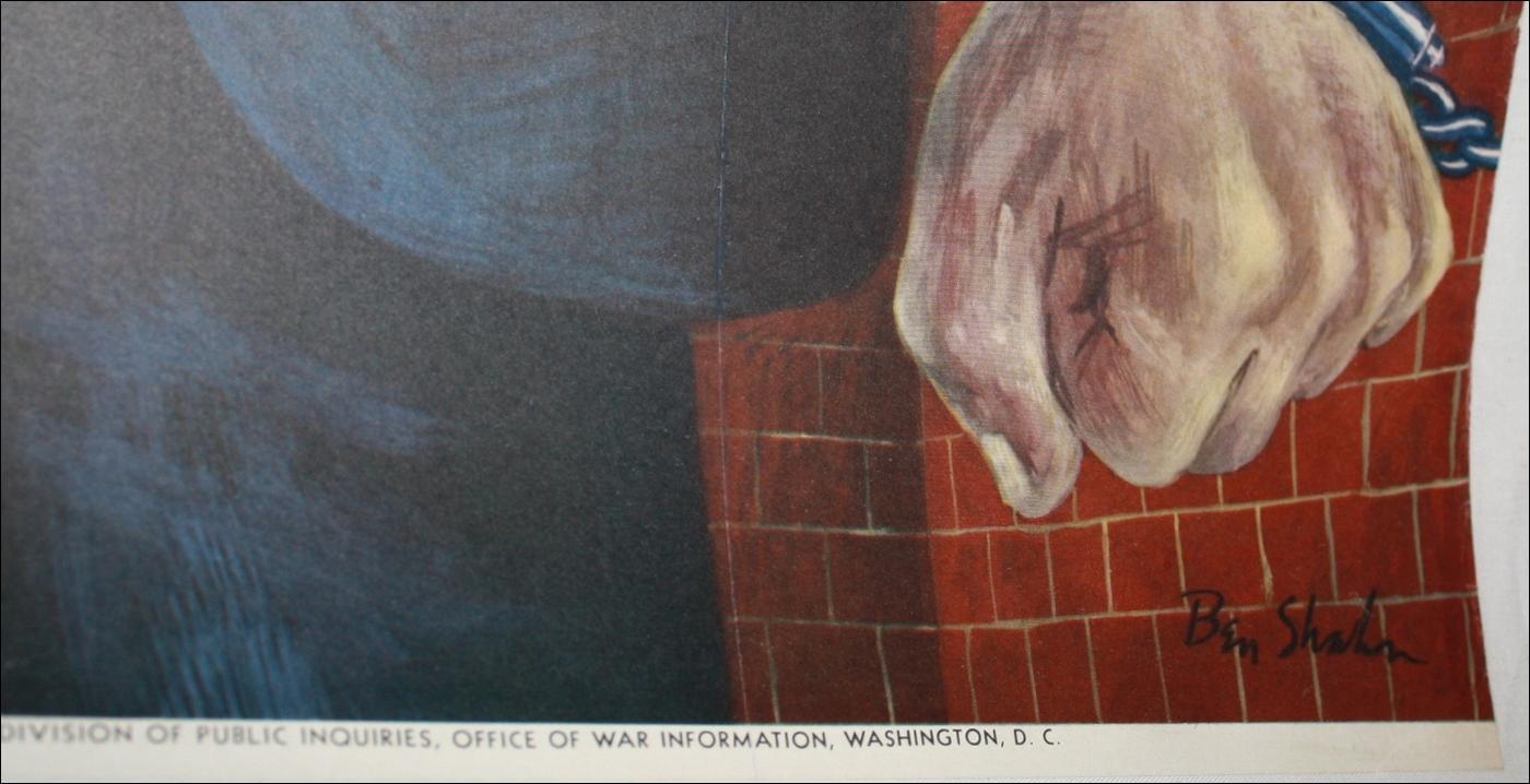 WW2 Nazi Germany Brutal Poster 1942