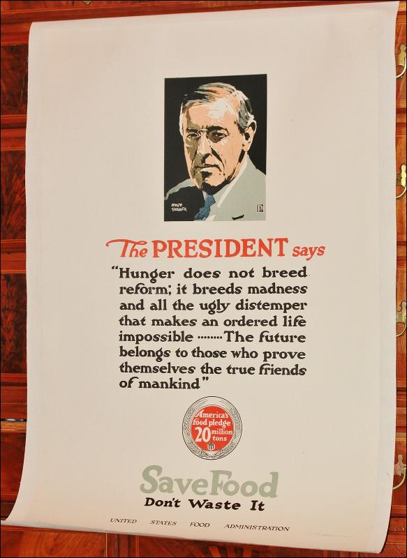 WWI President Wilson Poster