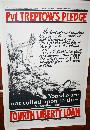 WWI Private Treptow Soldier Poster Bravery