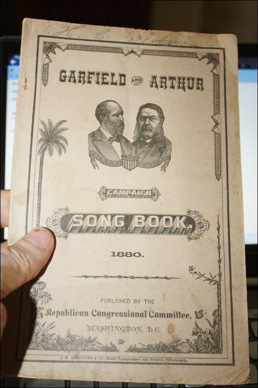 Garfield Arthur Songbook 1880