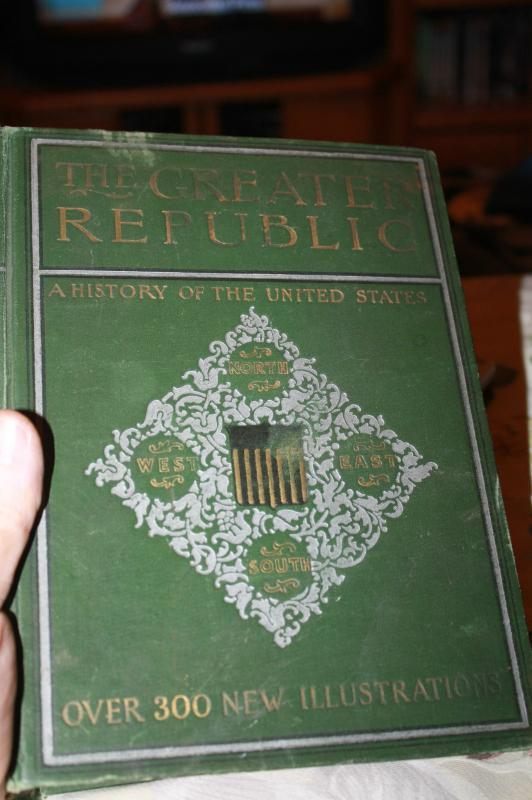 The Great Republic History of US 1979 Book