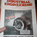 Industrial Engineering Magazine 1929