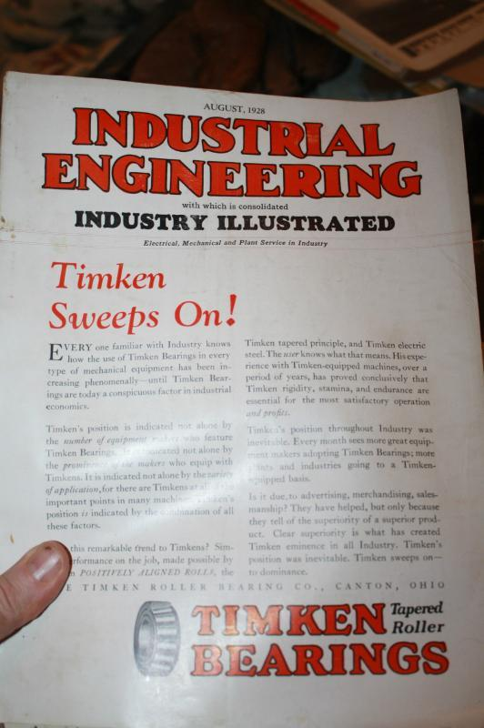 Industrial Engineering Magazine 1928