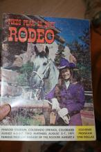 Pike's Peak Rodeo Program 1971