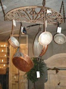 Demi Lune Pot Rack