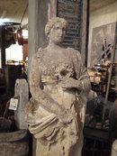 Roman Statue of a Young Woman
