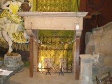 Grande Scale Stone Mantel