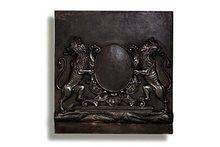 Heraldic Cast Iron Fireback